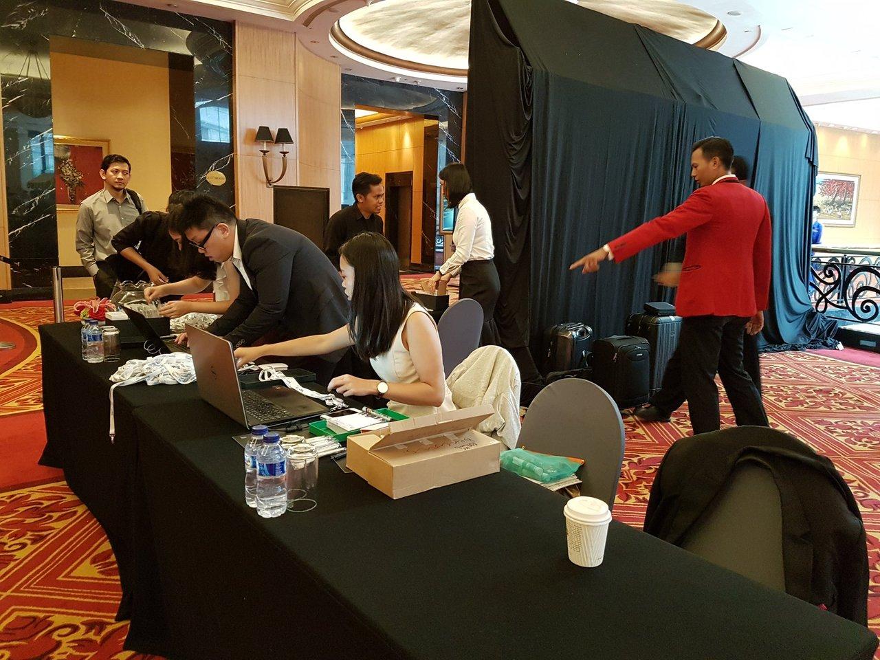 Blipster registration @ Jakarta