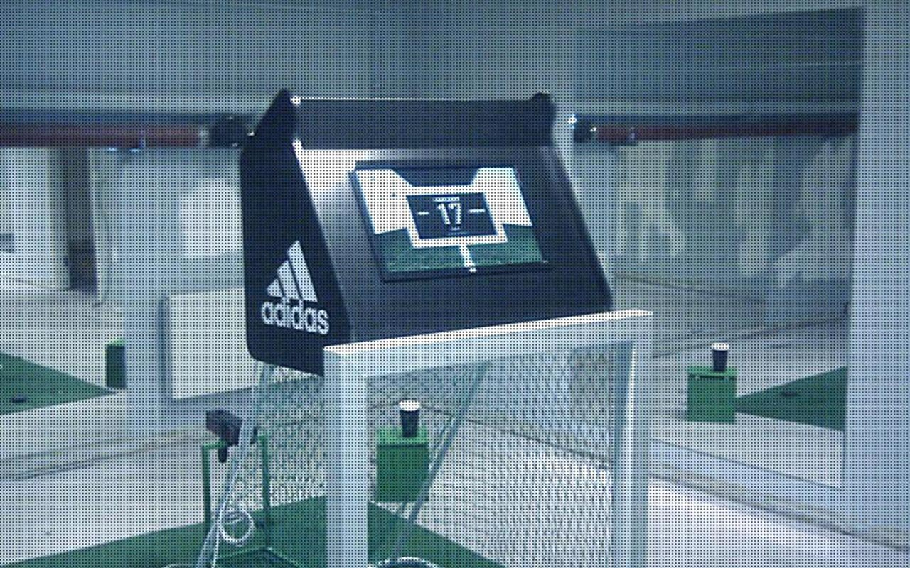 Adidas Power goal post