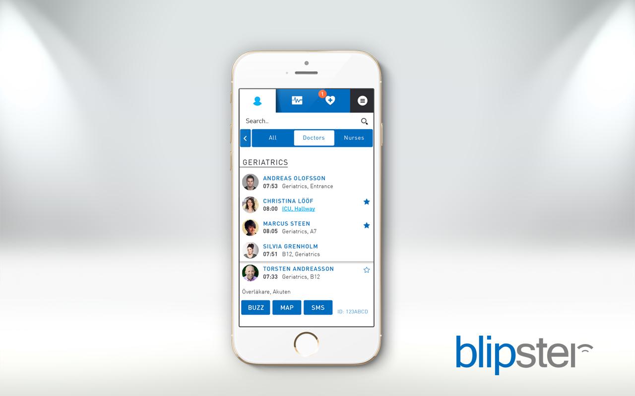 Blipster mobile single