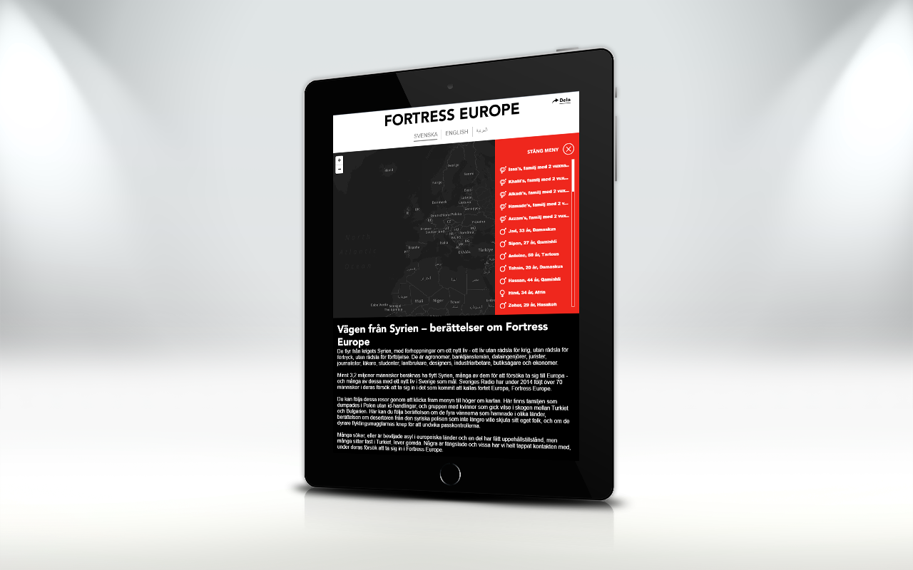 Fortress Europe tablet