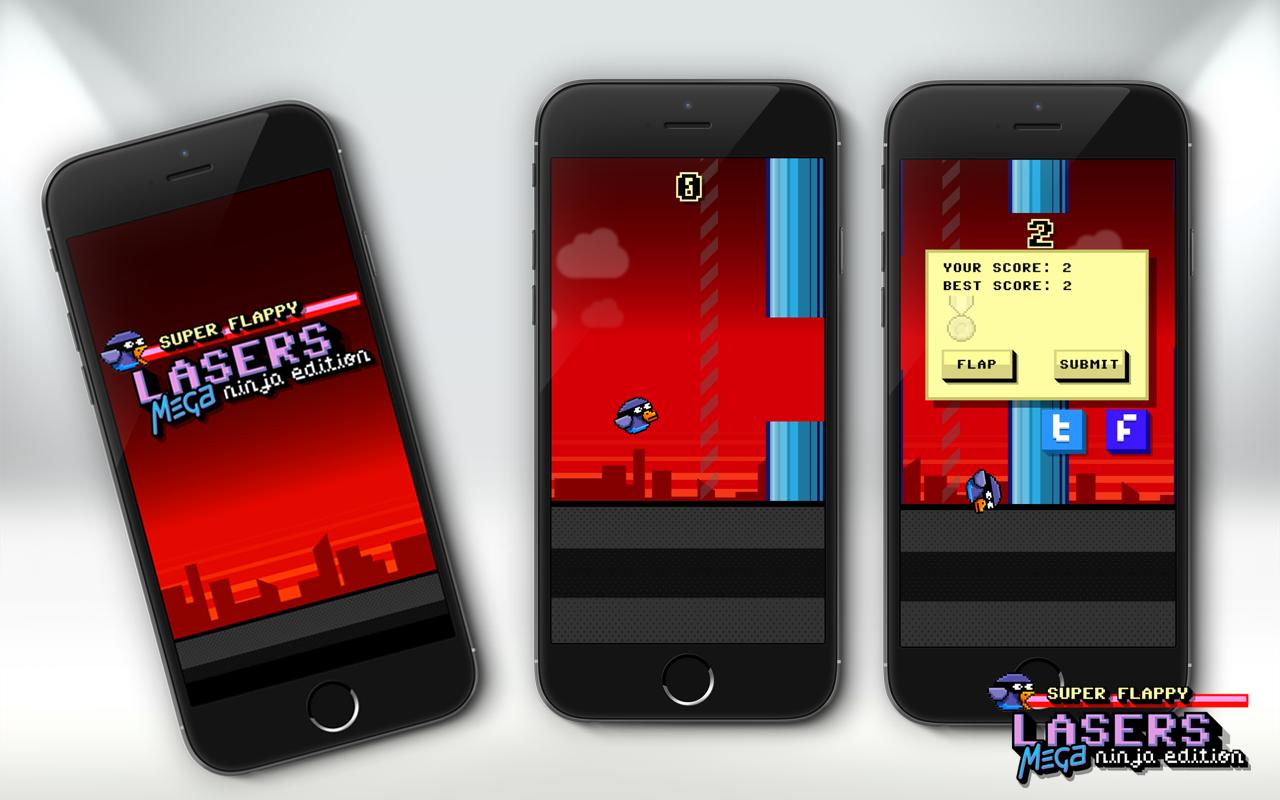Super Flappy Laser screenshots